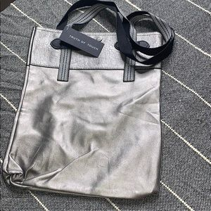 New Truth of Touch Bag tote purse silver